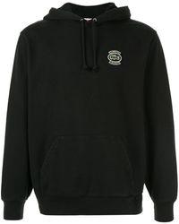 Supreme Lacoste Hooded Sweatshirt - Black