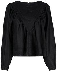 Étoile Isabel Marant Блузка С Декоративной Строчкой - Черный