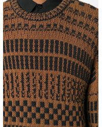 AMI - クルーネック オーバーサイズ セーター - Lyst