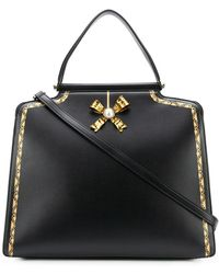 Tosca Blu - Embellished Bow Large Tote - Lyst