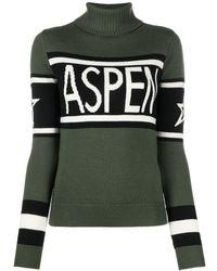 Perfect Moment Джемпер Schild Aspen С Высоким Воротником - Зеленый
