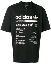 adidas - T-shirt con motivo stampato - Lyst