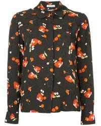 Vilshenko - Floral Print Shirt - Lyst