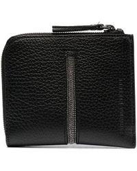 Fabiana Filippi ファスナー財布 - ブラック