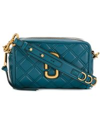 Marc Jacobs The Quilted Softshot ショルダーバッグ - ブルー