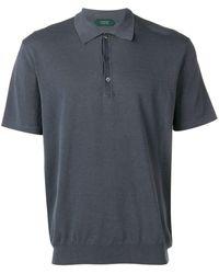 Zanone Classic Polo Shirt - Blue