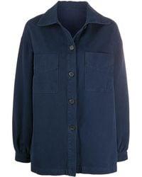 Raquel Allegra Explorer Shirt Jacket - Blue