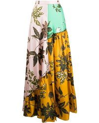 Dorothee Schumacher Full-length Paneled Skirt - Pink