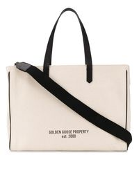 Golden Goose Deluxe Brand スローガン プリント ハンドバッグ - マルチカラー
