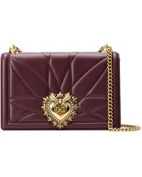 Dolce & Gabbana Devotion ショルダーバッグ M - レッド