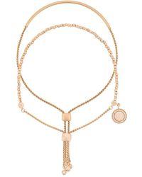 Astley Clarke Cylinder Cosmos Bracelet Stack - Естественный