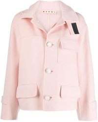 Marni Double-face Jacket - Pink
