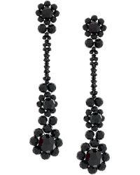 Simone Rocha - Crystal Beaded Drop Earrings - Lyst