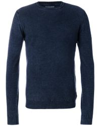 Jacob Cohen Knitted Sweater - Blue