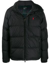 Polo Ralph Lauren ロゴ パデッドジャケット - ブラック