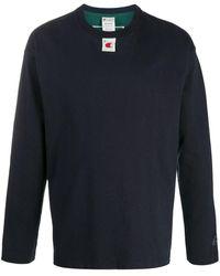 Champion バイカラー Tシャツ - ブルー