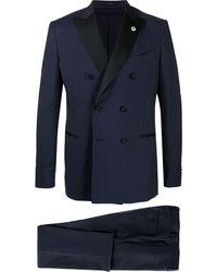 Lardini Two-piece Dinner Jacket - Blue