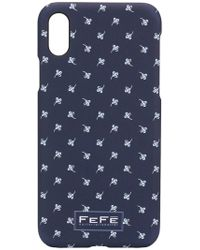 Fefe - Floral Print Iphone X Case - Lyst