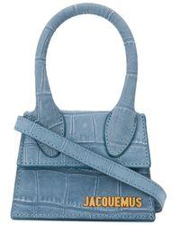 Jacquemus 'Le Chiquito' Handtasche - Blau