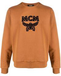 MCM Толстовка С Вышитым Логотипом - Коричневый