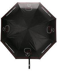 Karl Lagerfeld Parapluie K/Ikonic - Noir