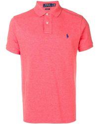 Ralph Lauren ロゴ ポロシャツ - ピンク