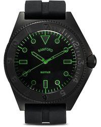 Bamford Watch Department Mayfair スチール 40mm - ブラック