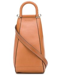 JW Anderson One-shoulder Zipped Backpack - Brown