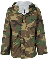 Supreme Military Taped Seam Parka - Green