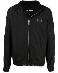 Les Hommes ロゴ ジャケット - ブラック