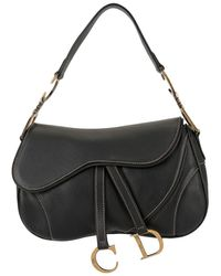Dior Сумка На Плечо Saddle - Черный
