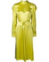 Golden Goose Deluxe Brand モックネック ドレス - イエロー