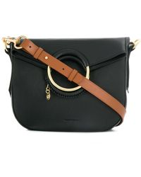 c7695bba12 See By Chloé Small 'collins' Crossbody Bag in Black - Lyst
