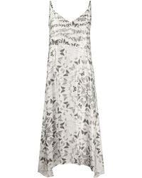 AllSaints スリップドレス - ホワイト