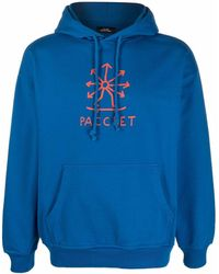 Rassvet (PACCBET) ドローストリング パーカー - ブルー