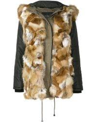 Ash | Fur Trim Coat | Lyst