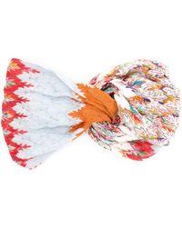 Missoni Fascia per capelli con nodo - Multicolore