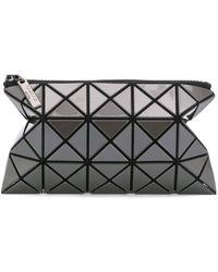 Bao Bao Issey Miyake Geometric Zipped Wallet - Grey