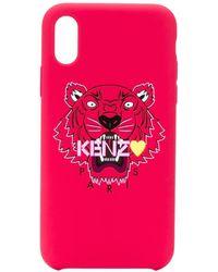 KENZO タイガー Iphone X ケース - マルチカラー