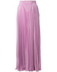 Valentino | Pleated Maxi Skirt | Lyst