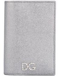 Dolce & Gabbana パスポートケース - グレー