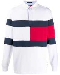 Tommy Hilfiger - カラーブロック ポロシャツ - Lyst