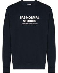 Pas Normal Studios Толстовка С Логотипом - Синий