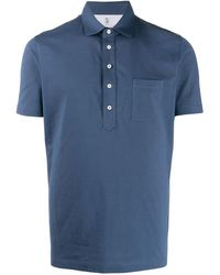 Brunello Cucinelli - Однотонная Рубашка-поло - Lyst