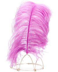 Nina Ricci - Feather Headpiece - Lyst