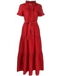 LaDoubleJ Платье Long And Sassy - Красный