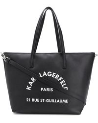 Karl Lagerfeld - ロゴ ハンドバッグ - Lyst