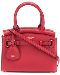 Ralph Lauren Collection Small Structured Tote Bag