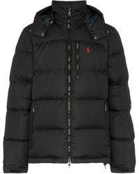 Polo Ralph Lauren ジップアップ パデッドジャケット - ブラック