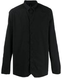 Transit ラグランスリーブ シャツ - ブラック